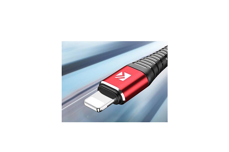 Lightning-kabel kompatibel med iOS-enheter