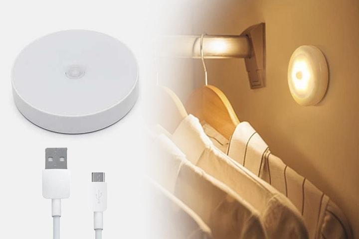 Trådløs USB nattlampe