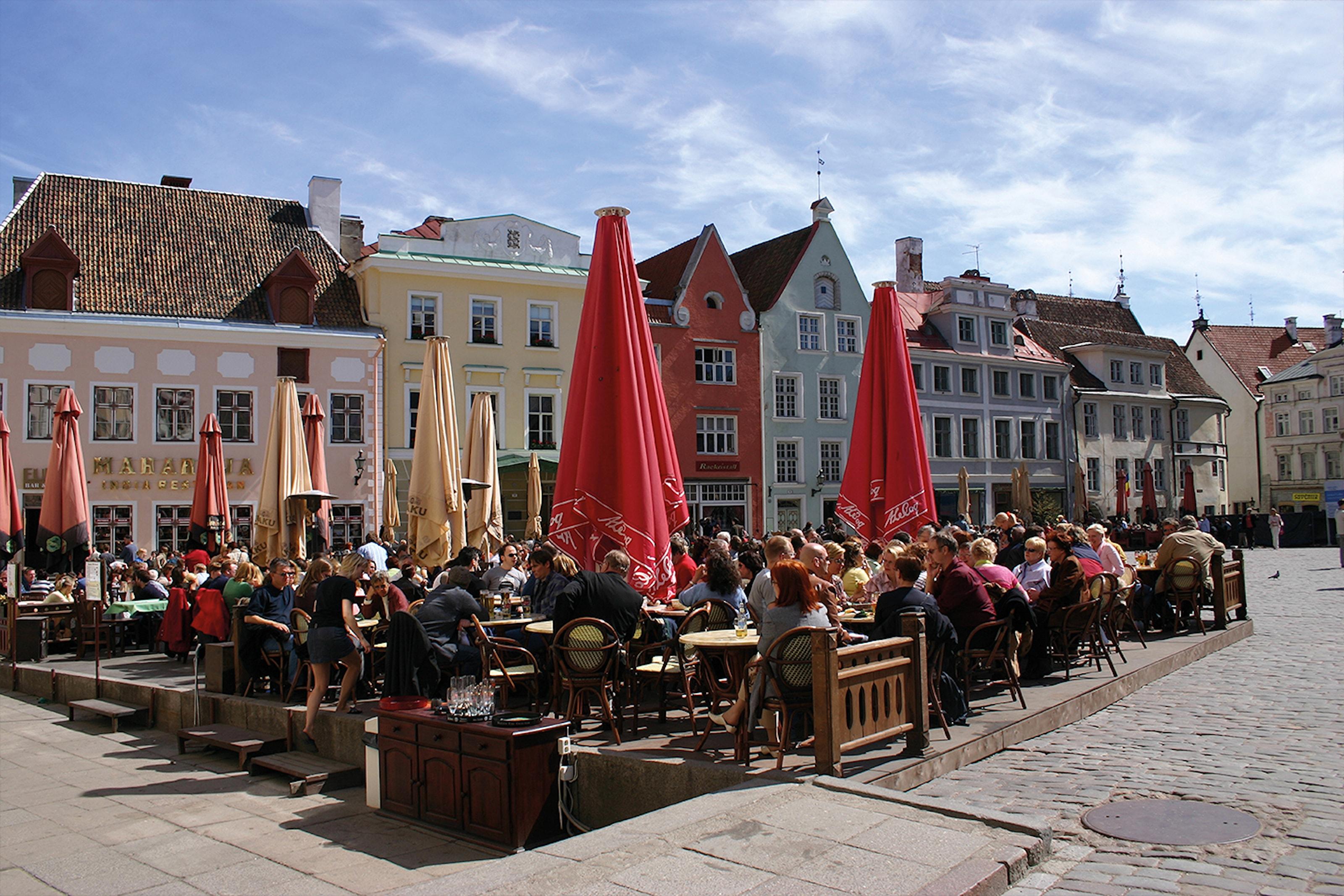 40 timmarskryssning till vackra Tallinn