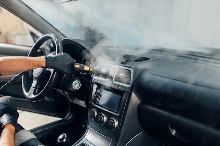 Rekond invändig tvätt av bil