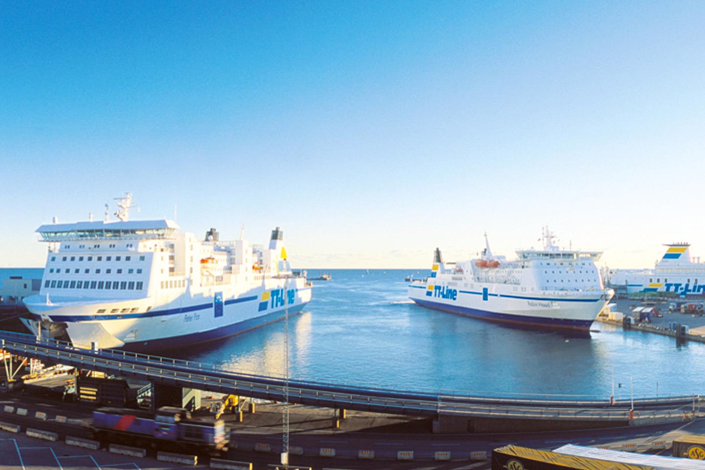 Tysklandsfärja för 5 pers inkl. hytt och bil med TT-Line – gäller hela 2020 (1 av 4)