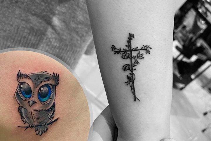 Presentkort på tatuering hos Caesar Tattoo vid Avenyn