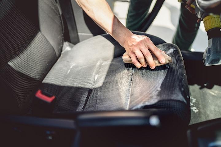 Klädseltvätt av 5 bilsäten inkl. invändig tvätt
