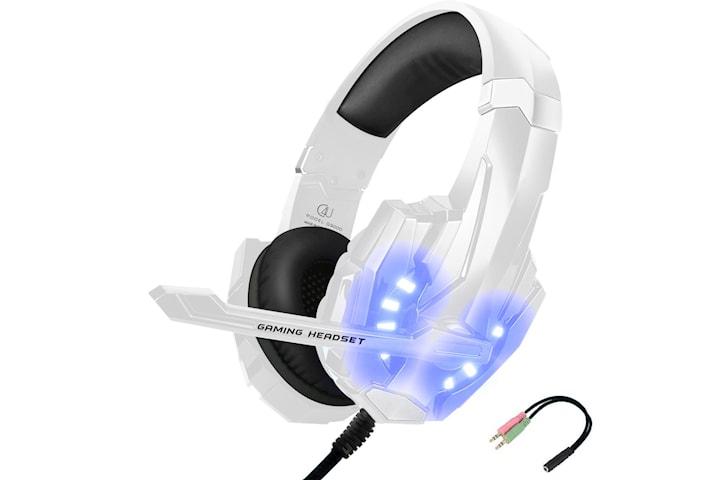 Gaming headset hörlurar C4U®  G9000 Mic för Playstation™ 4 / Ps5™ Ps4™