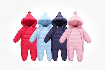 Vinteroverall till bebis
