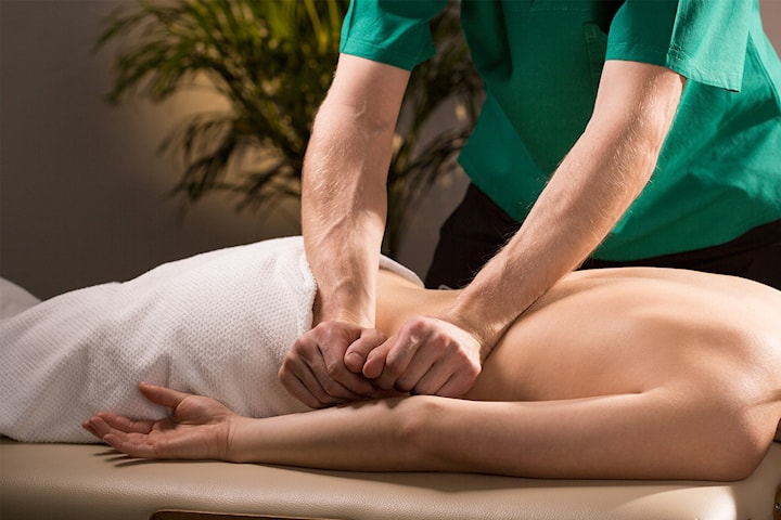Medicinsk ryggmassage