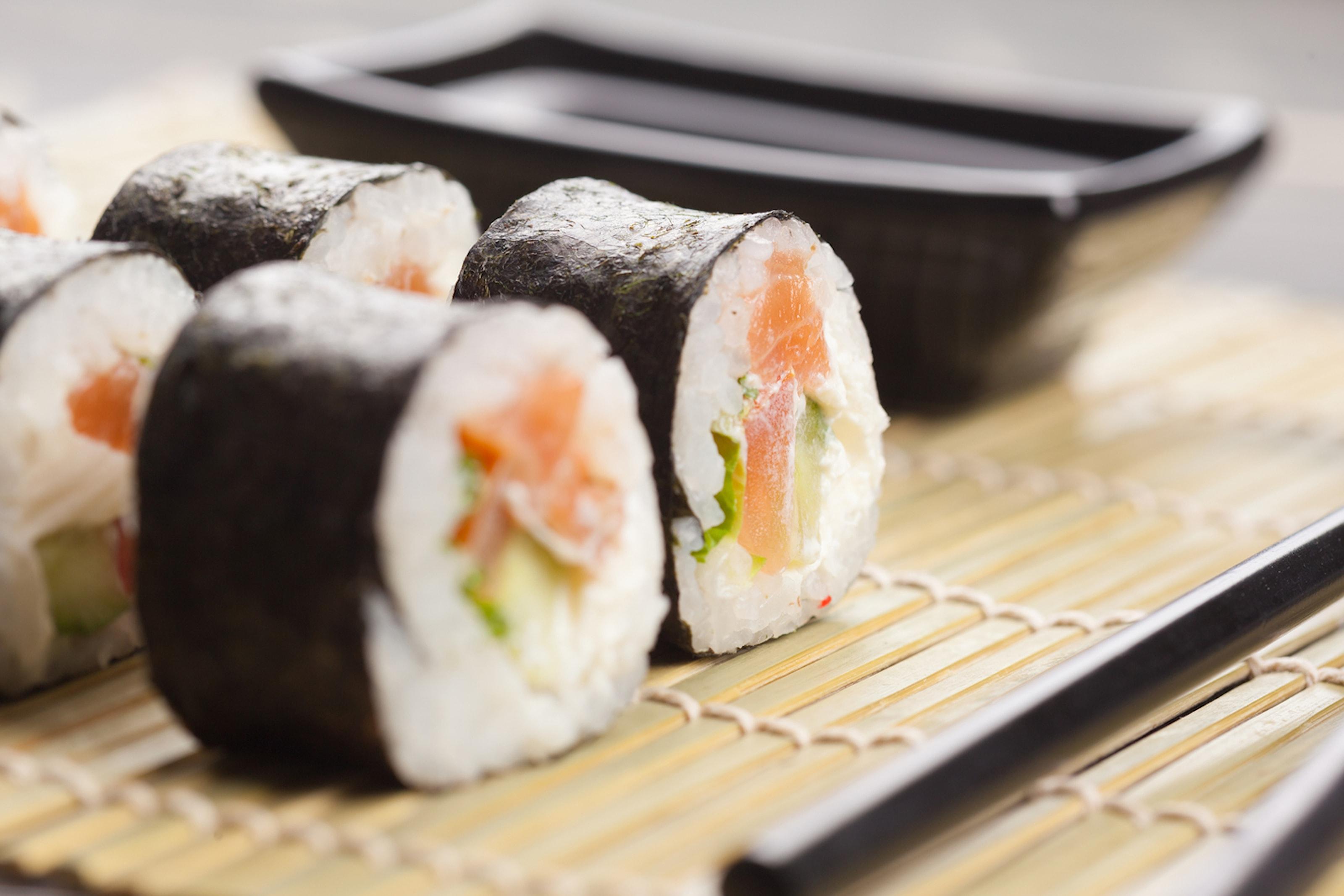 Sushi hos Harmoni Sushi