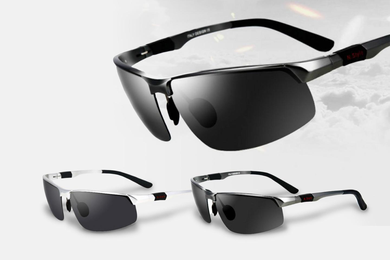Polariserande solglasögon (1 av 4)