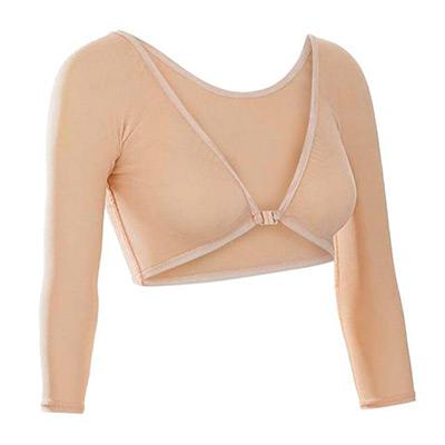 Khaki, XL, New Women Solid Both Side Wear Sheer, Genomskinlig bolero, ,  (1 av 1)