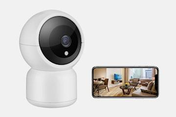 Wi-Fi overvåkningskamera V380 med nattesyn