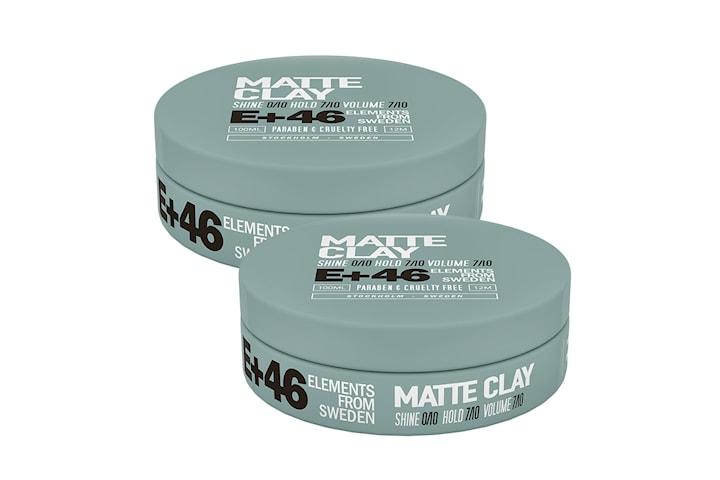 2-pack E+46 Matte Clay 100ml