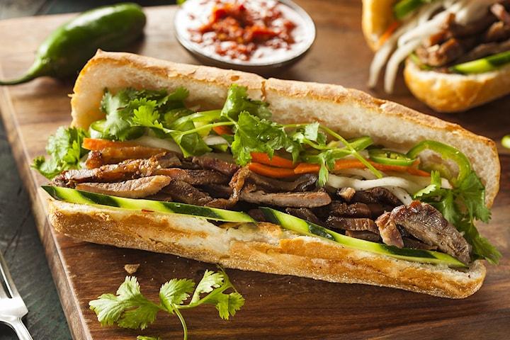 Valgfri vietnamesisk sandwich i særklasse hos Banh Mi Cousins