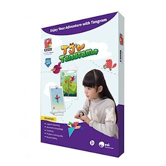 TJ´s Tangram, 3 Different Games, Spel från Toy IQ,