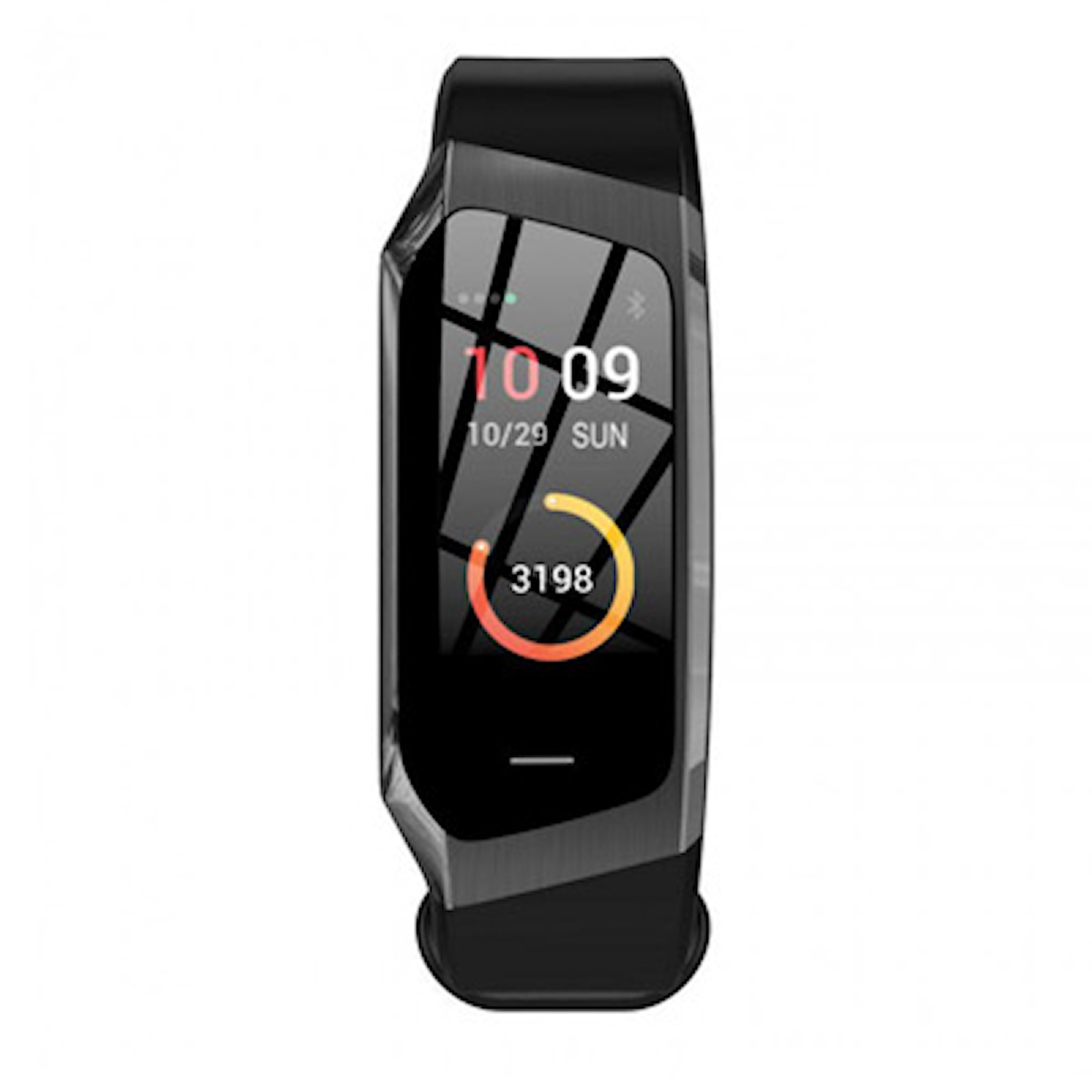 Svart, E18 Heart Rate Smart Bracelet, Aktivitetsarmband med blodtrycksmätare, ,