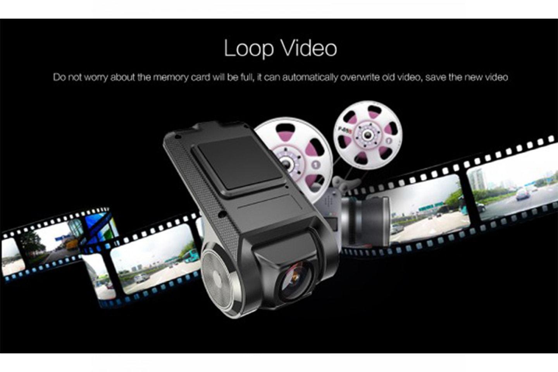 HD dashcam til bil