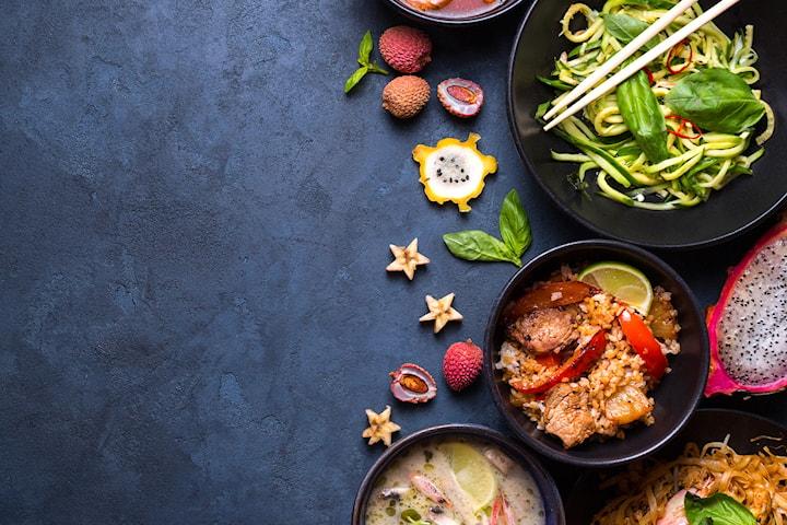 6-retters tasting meny hos Apsorn Thai