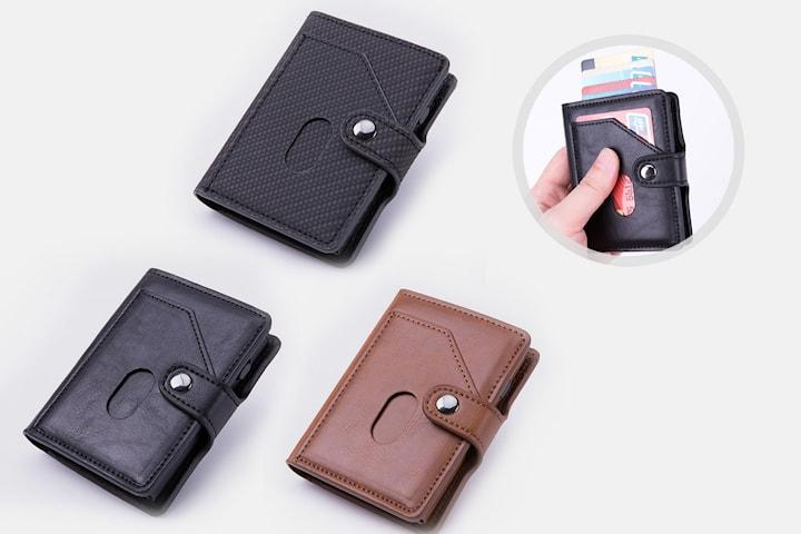 Lommebok med RFID-beskyttelse