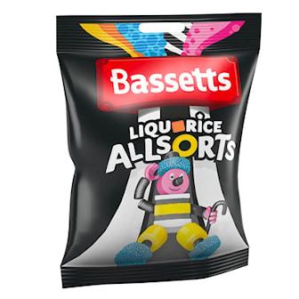Allsorts, Basset Allsorts & Wine Gums, 6-Pack, 6-pack Bassets, ,