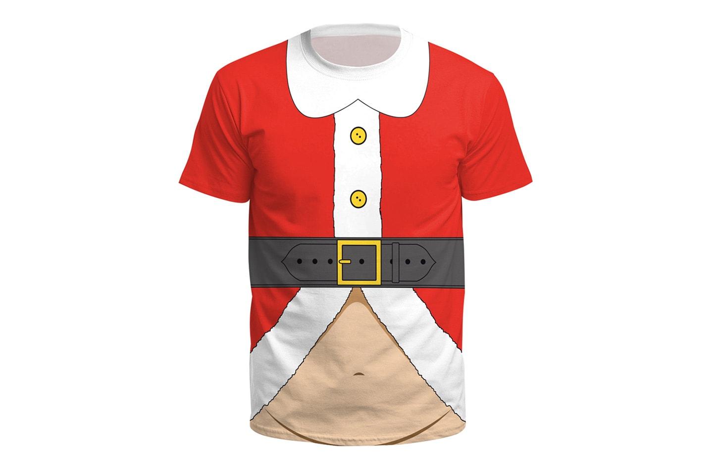 T-skjorte med julemotiv