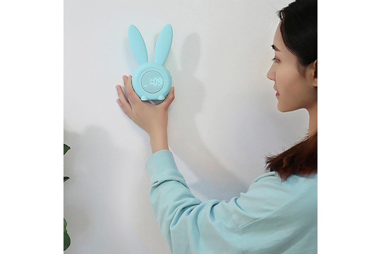 Vekkerklokke med kaninører