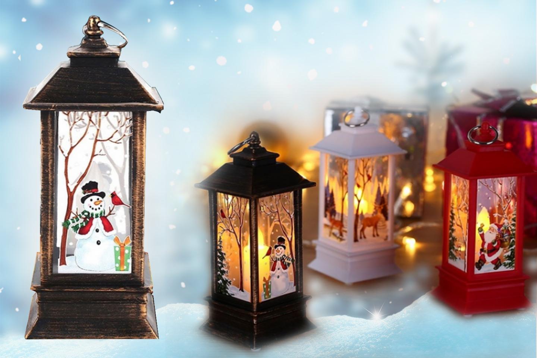 Julelys dekorasjon (1 av 12)