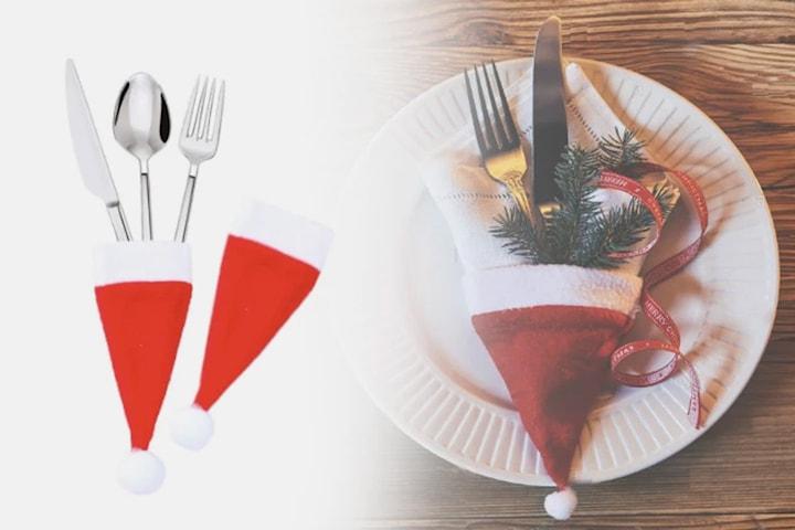 Julepynt til bestikk 10- eller 20-pack