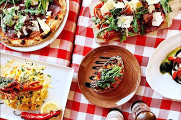 Trerätters middag inkl. prosecco på Enoteca Cucina Italiana