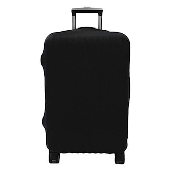 Svart, S, Travel Luggage Cover, Bagasjedeksel, ,