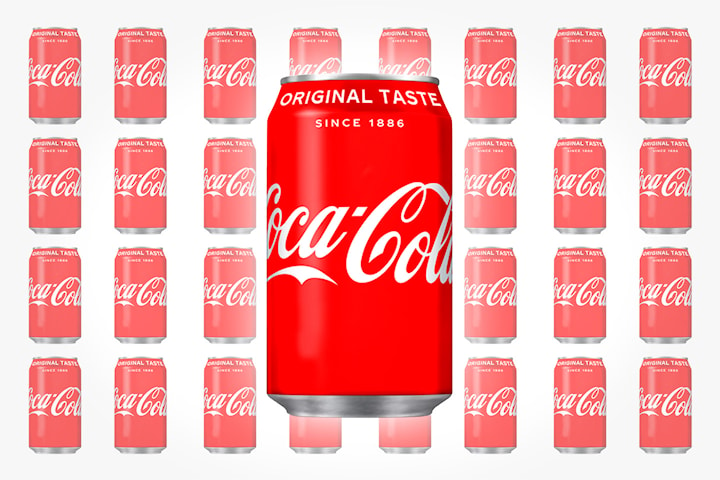 Coca-Cola Classic 72 bokser