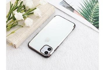 Elektropläterat TPU-skal iPhone 12 mini med två skärmskydd.