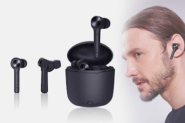 HI-01 trådløse hodetelefoner med ladetui