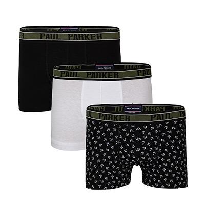 Black, White, Anchors, XXL, Paul Parker Boxers, Paul Parker boxer, ,  (1 av 1)