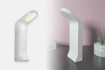 Oppladbar vegg- eller bordlampe