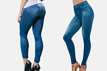 Jeggings – leggings med jeans-look