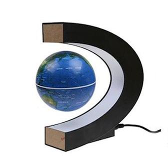 Blå, C Shape LED Magnetic Globe, Magnetisk globus, ,