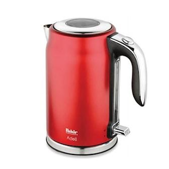 Röd, Fakir Steel Kettle, 1200W, Vattenkokare 1200W, ,