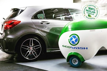 100 % miljøvennlig innvendig og utvendig håndvak med GeoWash