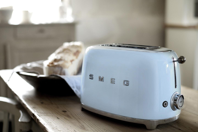 Smeg Retro brödrost eller vattenkokare