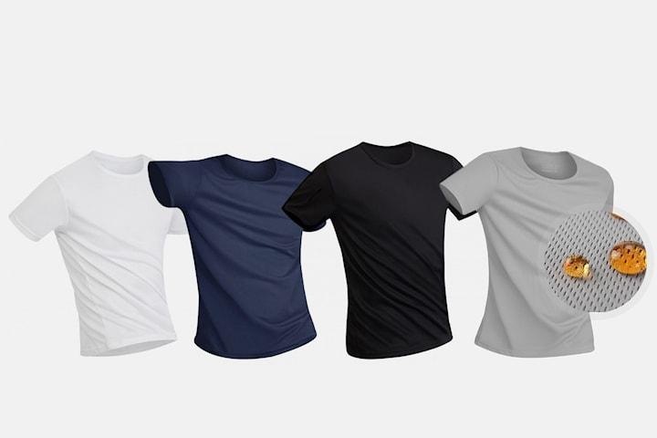 Vattentät anti-smuts t-shirt