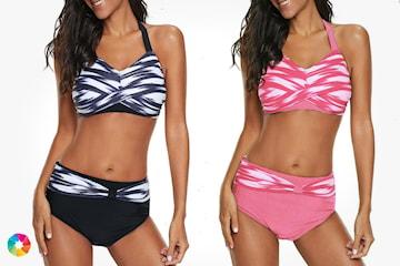 Bikini med push-up effekt