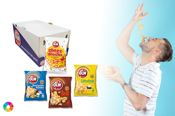 Chips från OLW, 20-pack