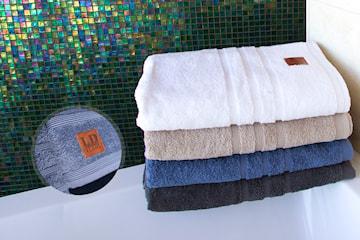 Handduks-set i bomullsfrotté från LD Terry