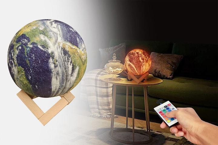 3D Earth Lamp