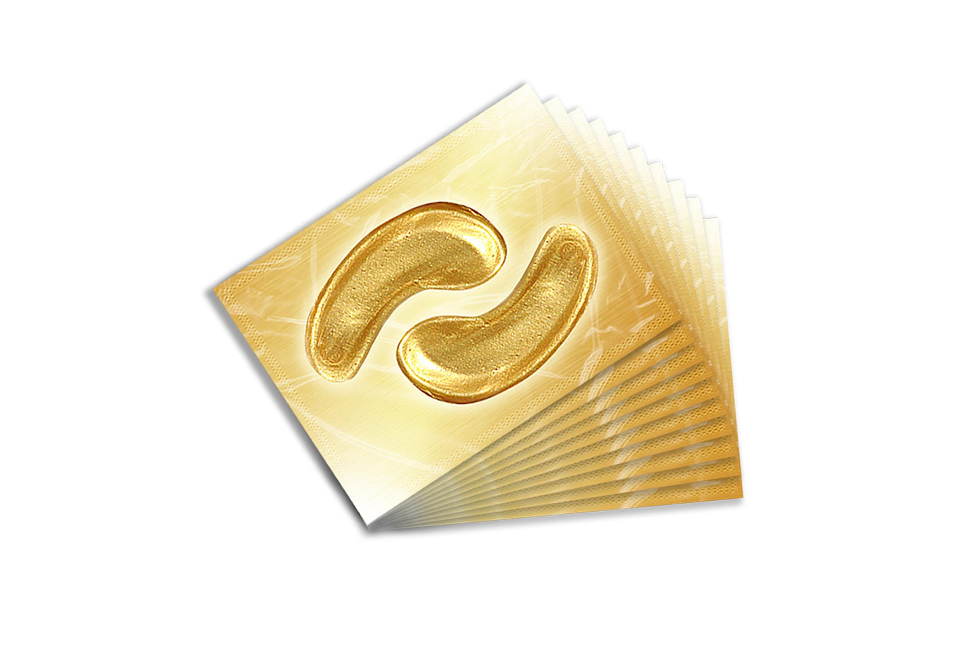 Ögonsmask guld med kollagen, 40-pack