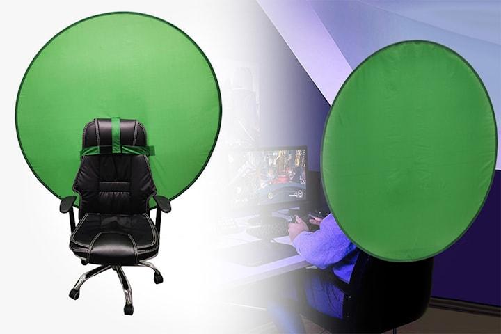 Green Screen för kontorsstol