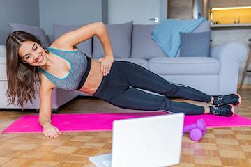 Bli slank, sterk og fit med hjemmetrening på bare 10 uker