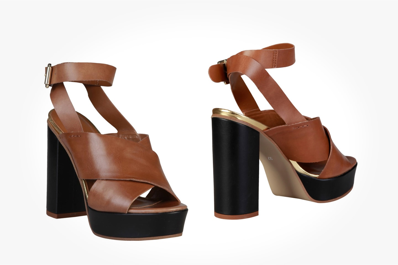 Pierre Cardin sandaler i eko-läder
