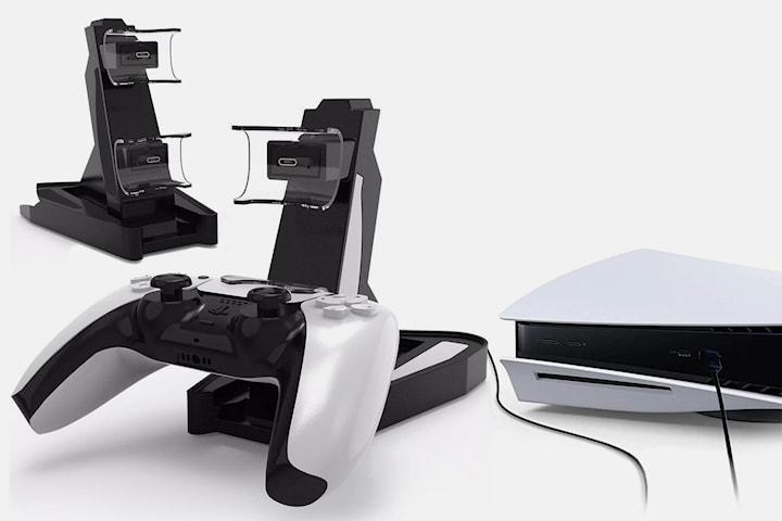 Laddstation kompatibel med PS5-kontroller