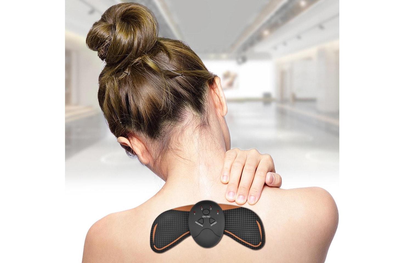 Massageapparat för axlar och nacke