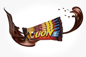 Lion sjokolade 15 stk à 42g